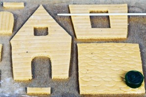 Пряничный домик - фото шаг 9