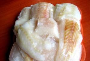 Рыба под соусом бешамель - фото шаг 1
