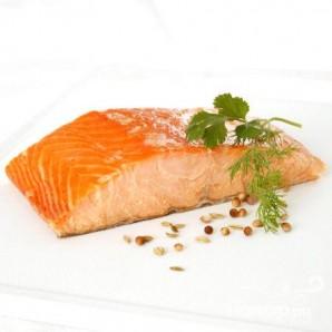 Запеченные филе лосося Дижон - фото шаг 1
