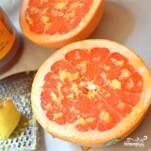 Запеченный грейпфрут с медом - фото шаг 2