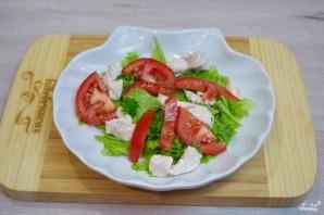 Салат с индейкой и помидорами - фото шаг 3