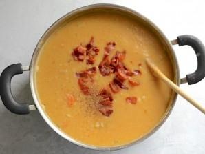 Суп с белой фасолью и беконом - фото шаг 9