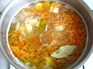 Вегетарианский рассольник с перловкой - фото шаг 9