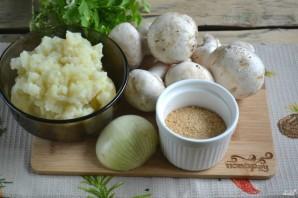 Постные картофельные котлеты с грибами - фото шаг 1