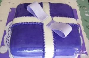 """Торт """"Подарок"""" - фото шаг 17"""