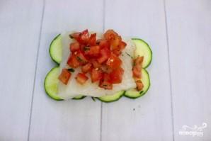 Филе тилапии, запеченное с овощами  - фото шаг 3