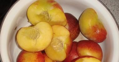 Персиковый пудинг - фото шаг 1