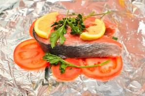 Стейк лосося в фольге - фото шаг 1