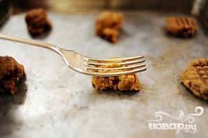 Печенье с арахисовым маслом - фото шаг 3