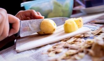 Быстрые пирожки на кефире - фото шаг 1