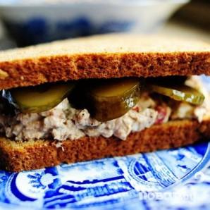 Мясной Сэндвич - фото шаг 10