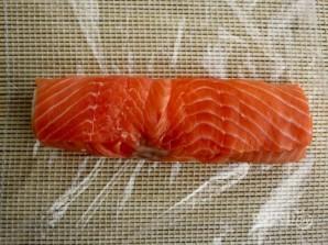 """Рецепт суши """"Филадельфия"""" дома - фото шаг 7"""