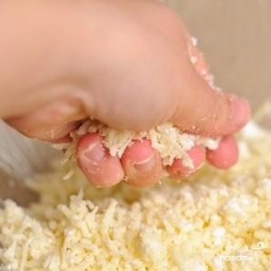 Мгновенный хачапури на сковороде - фото шаг 3
