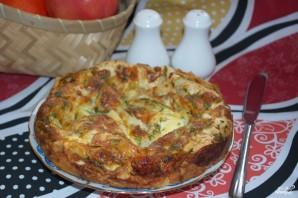 Пирог из лаваша с сыром в духовке - фото шаг 11