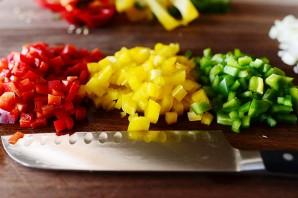 Суп из черной фасоли и овощей - фото шаг 5