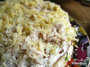 Закусочный блинный торт - фото шаг 5