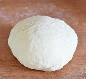Дрожжевое тесто на сковороде - фото шаг 2