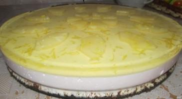 "Торт ""Творожное суфле"" - фото шаг 4"