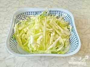 Летний салат по-молдавски - фото шаг 1