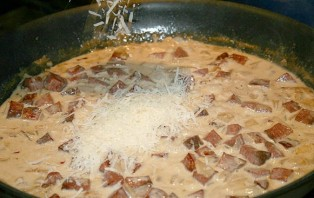 Паста с колбасой - фото шаг 3