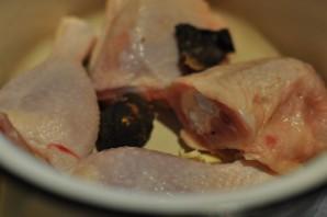 Курица, тушенная кусочками - фото шаг 3