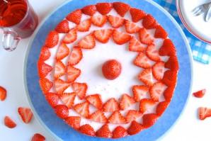 Холодный торт с желатином - фото шаг 9