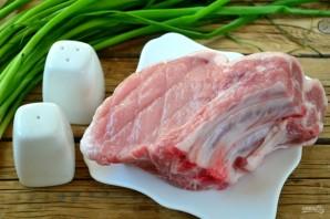 Отбивная из свинины на косточке - фото шаг 1