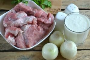 Маринад для шашлыка из свинины с кефиром - фото шаг 1