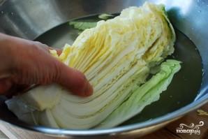 Капуста соленая по-корейски - фото шаг 3