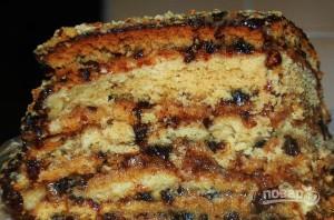 Торт медовый с черносливом - фото шаг 8