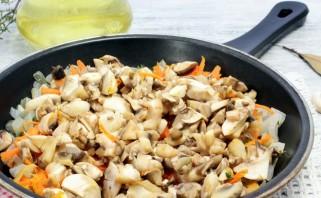 Фаршированный перец грибами в духовке - фото шаг 2