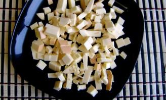 Суп с копченым сыром - фото шаг 4