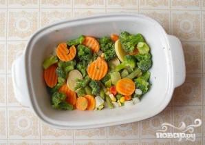 Нототения запеченная с овощами - фото шаг 2