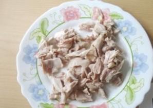 Куриный суп-пюре с грибами   - фото шаг 13
