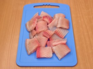 Рыба, запеченная в сливках - фото шаг 1