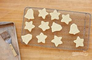 Рождественское печенье из песочного теста - фото шаг 5