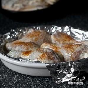 Запеченная курица в маринаде из пахты - фото шаг 3