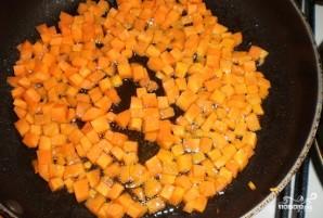 Тушеная фасоль с луком и морковью - фото шаг 3