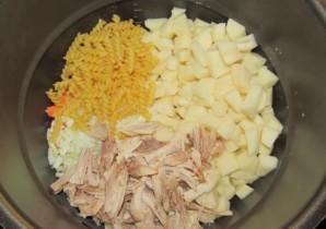 Куриный суп в скороварке-мультиварке - фото шаг 5