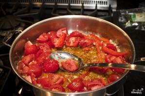 Паста с помидорами и чесноком - фото шаг 7
