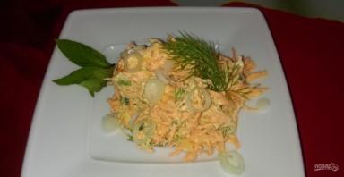 Салат морковный с сыром - фото шаг 5