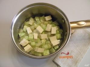 Суп из кабачков с сыром - фото шаг 4