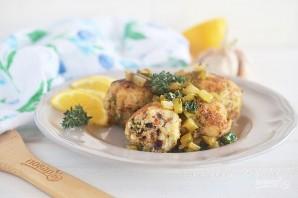 Рыбные колбаски под лимонным соусом - фото шаг 12
