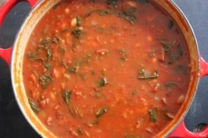 Салат из фасоли в томате - фото шаг 3