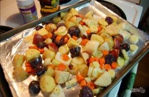 Жаркое из картофеля со свининой - фото шаг 2