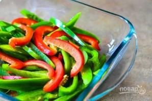 Салат с перцем и манго - фото шаг 3