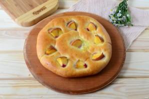Хачапури с сыром и персиками - фото шаг 11
