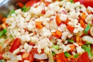 Баранина тушеная с овощами - фото шаг 6