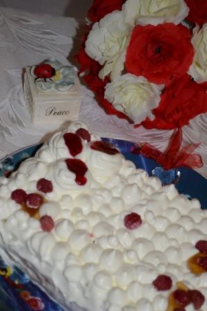 Творожный торт со взбитыми сливками - фото шаг 8