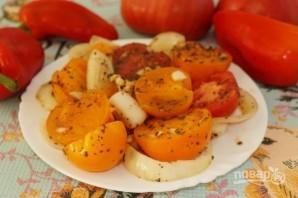 Ароматная закуска из помидоров - фото шаг 5